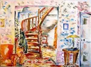 aquarelle-interieur-1992